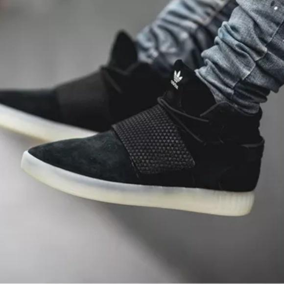 ... New Adidas Tubular Invader Strap Black Ice new authentic b731b 4db68 ... 8e2e69f82